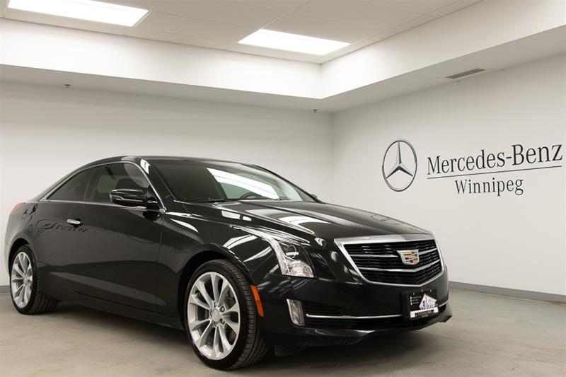 Pre-Owned 2015 Cadillac ATS Coupe AWD 3.6L Premium
