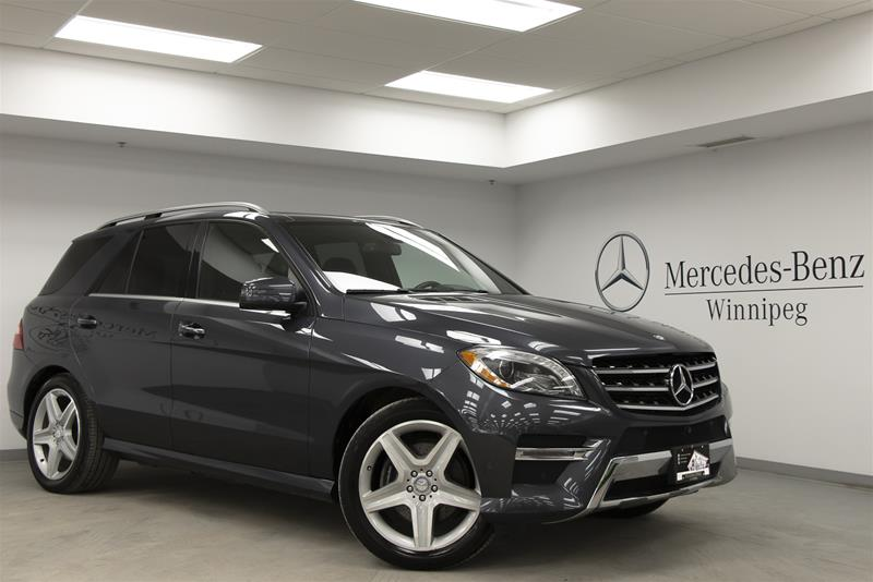 Pre-Owned 2015 Mercedes-Benz ML350 BlueTEC 4MATIC SUV