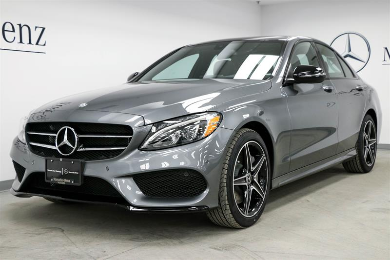 New 2017 mercedes benz c class c300 sedan in winnipeg for 2017 mercedes benz c300