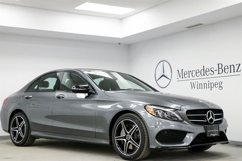 new 2017 mercedes benz c class c300 sedan in winnipeg