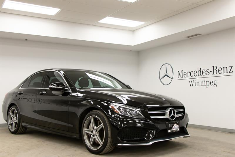Certified Pre-Owned 2015 Mercedes-Benz C-Class C-CLASS