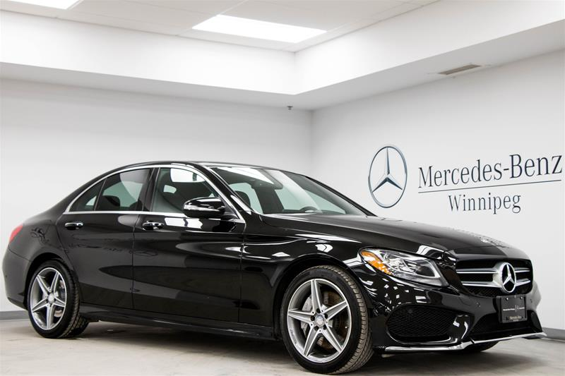 Certified pre owned 2015 mercedes benz c class c300 4 door Mercedes benz certified pre owned lease