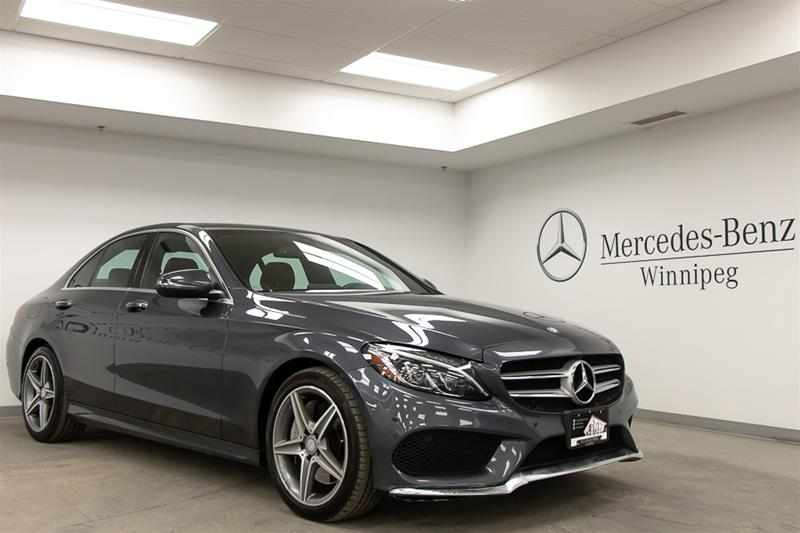 Certified Pre-Owned 2016 Mercedes-Benz C300 C-CLASS