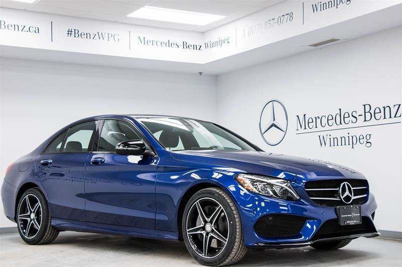new 2018 mercedes benz c class c300 sedan in winnipeg