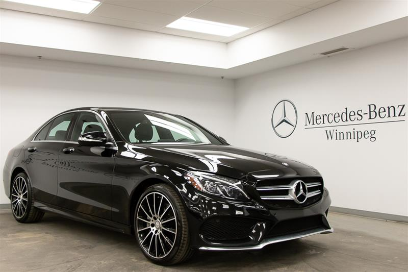 Certified Pre-Owned 2015 Mercedes-Benz C400 C-CLASS