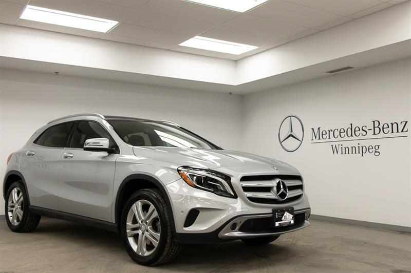 Certified Pre-Owned 2015 Mercedes-Benz 4MATIC SUV GLA250