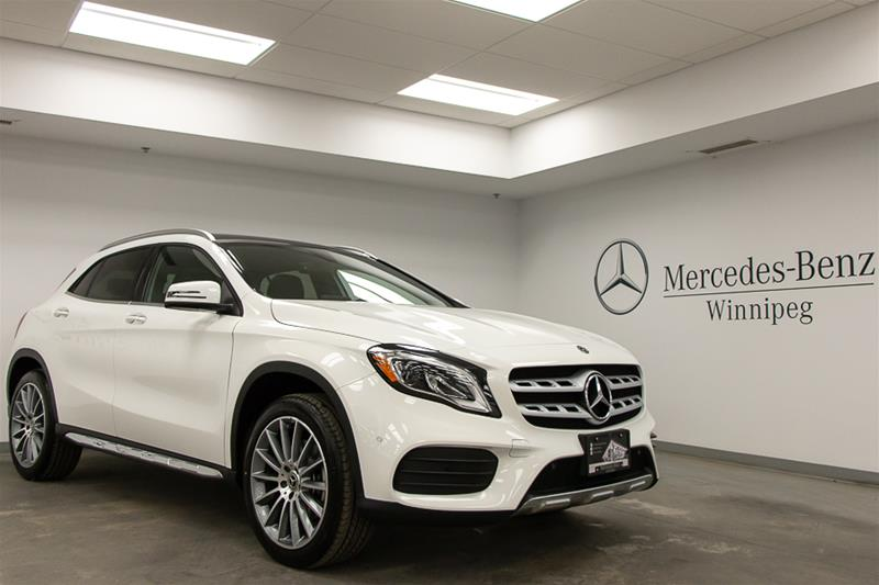 new 2019 mercedes-benz gla250 4matic suv suv in winnipeg #9ga35097