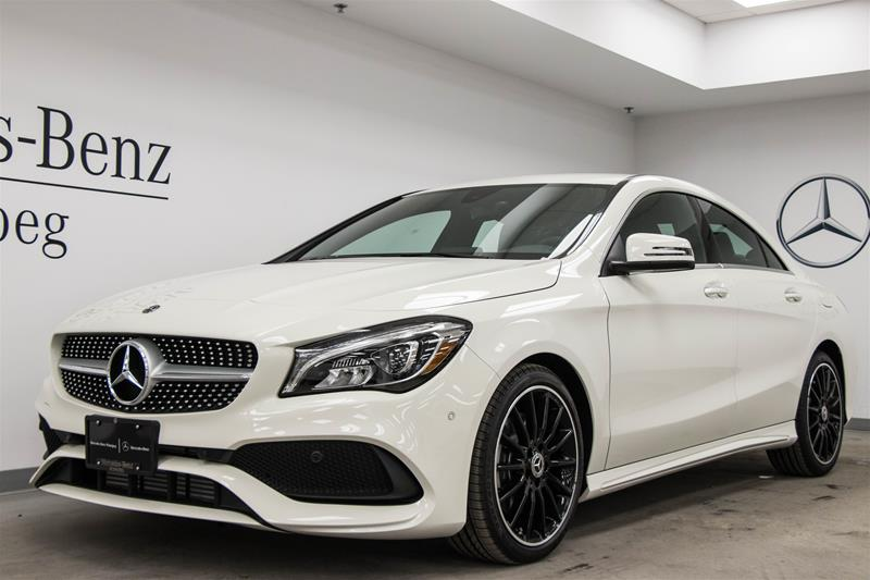 New 2018 Mercedes Benz Cla Cla250 Coupe In Winnipeg