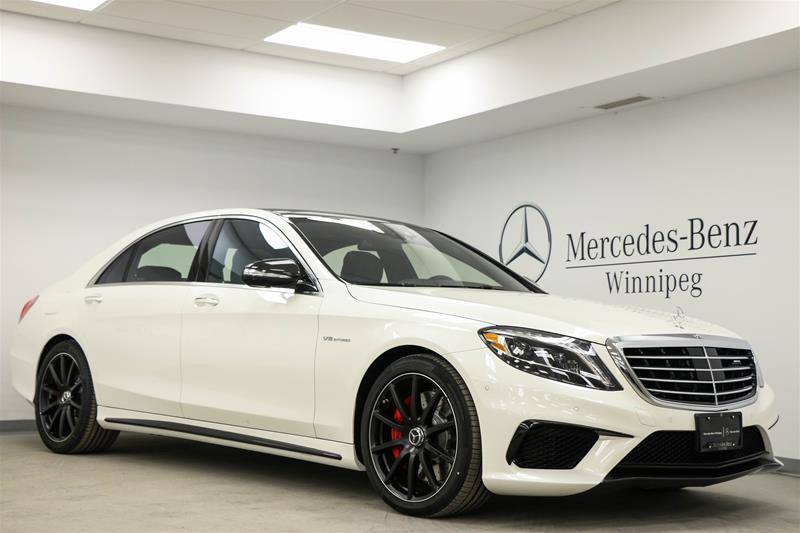 new 2017 mercedes benz s class s63 amg sedan in winnipeg 7sc27551 mercedes benz winnipeg. Black Bedroom Furniture Sets. Home Design Ideas