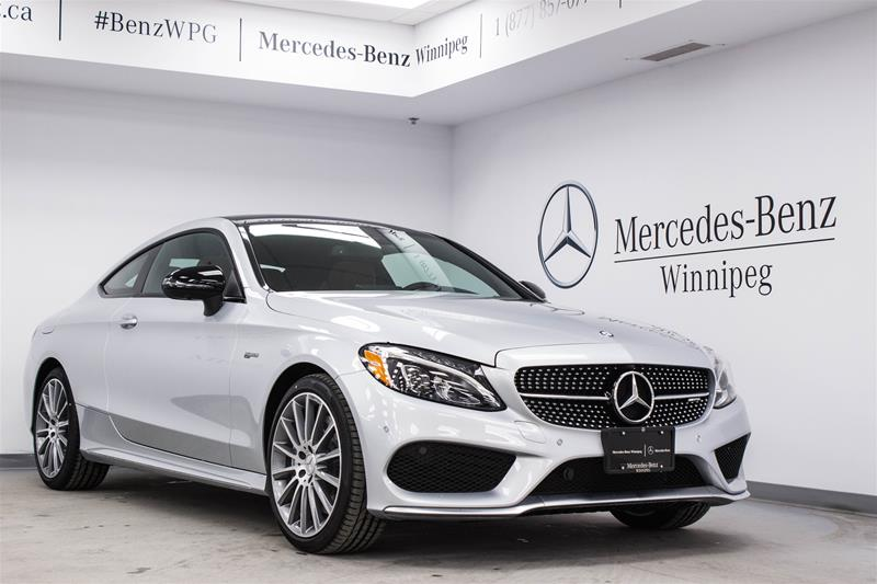 new 2017 mercedes benz c class c43 amg coupe in winnipeg
