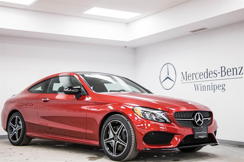 New 2017 mercedes benz c class c43 amg coupe in winnipeg for Mercedes benz c43 amg lease