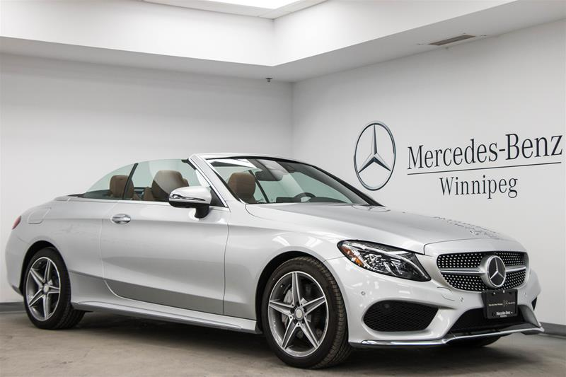 new 2017 mercedes benz c class c300 cabriolet in winnipeg
