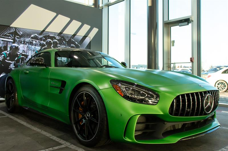 Pre Owned 2018 Mercedes Benz Amg Gt R Coupe