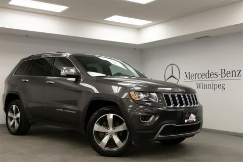 Pre-Owned 2015 Jeep Grand Cherokee 4x4 Limited