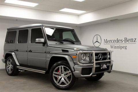 Certified Pre-Owned 2018 Mercedes-Benz G63 AMG SUV