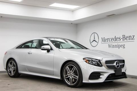 Pre-Owned 2018 Mercedes-Benz E400 4MATIC Coupe