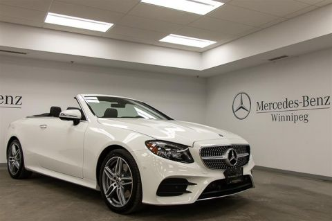 New 2018 Mercedes-Benz E400 4MATIC Cabriolet