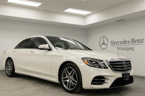 Pre-Owned 2018 Mercedes-Benz S560 4MATIC Sedan (LWB)