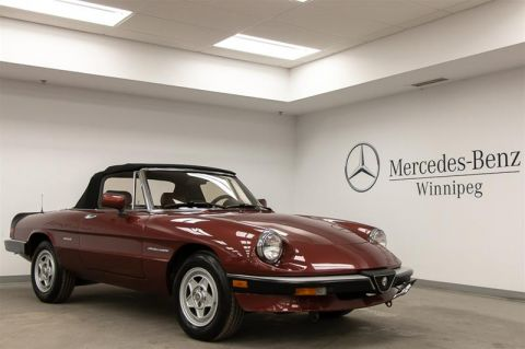 Pre-Owned 1988 Alfa Romeo Pre-owned vehicle (1990 or older) Spider